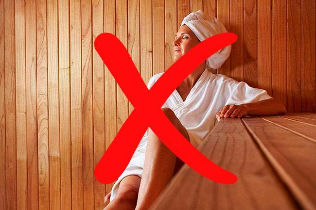 Отказ от бани после операции